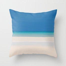 Dreamt Tropical Beach Design Throw Pillow
