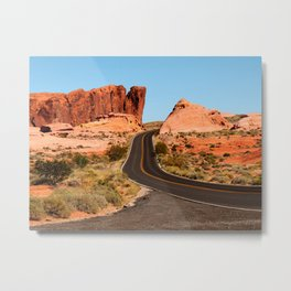 Valley of Fire State Park Metal Print