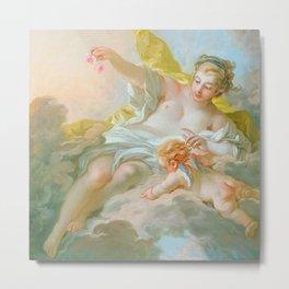 "François Boucher ""Aurora and Cephalus"" (1769) Metal Print"