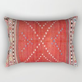 Fethiye Southwest Anatolian Camel Cover Print Rectangular Pillow