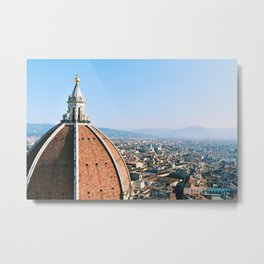 Florence from the Bell Tower Metal Print