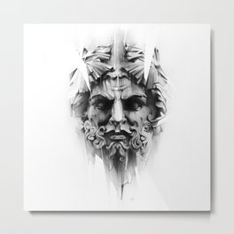 King Of Diamonds Metal Print