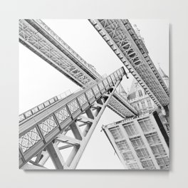 Tower Bridge 02C - Going Up Metal Print