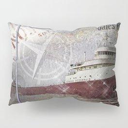 Edmund Fitzgerald Pillow Sham