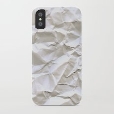 White Trash iPhone X Slim Case