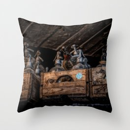Out Of Soda Throw Pillow