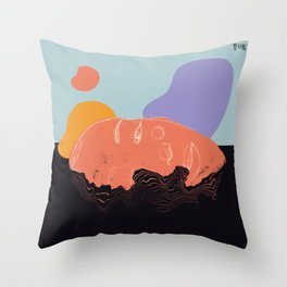 River Down Throw Pillow