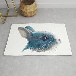 cute bunny illustration Rug
