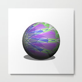 Colors and lights Metal Print