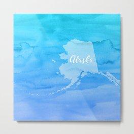 Sweet Home Alaska Metal Print
