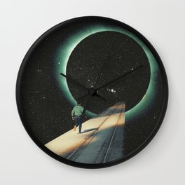 Escaping into the Void Wall Clock
