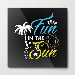 Fun In The Sun Metal Print