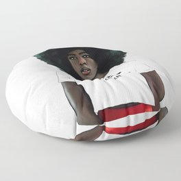 No cream, no sugar, black and strong! Floor Pillow