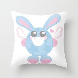 Bunbun Stars Throw Pillow