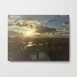 Sun Shower in Portland, Maine (3) Metal Print