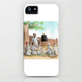 Punjabi village school iPhone Case