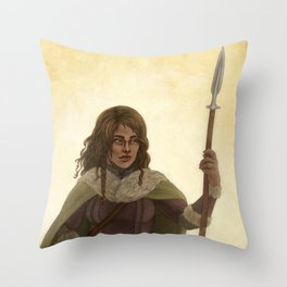 Haleth the Hunter Throw Pillow