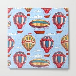 balloons and airships Metal Print
