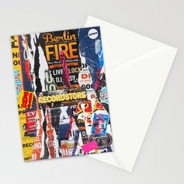 Berlin Fire Stationery Cards