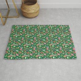 Batik Kebaya Green SQ Rug