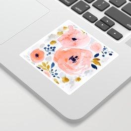 Genevieve Floral Sticker