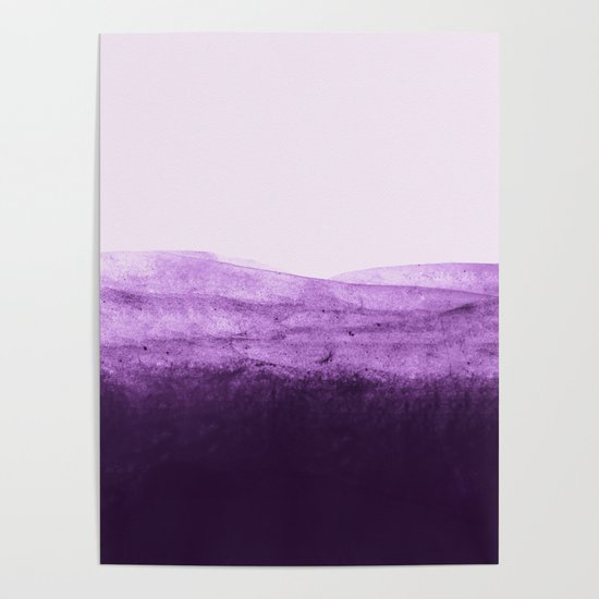 Amethyst Watercolor Crush by floresimagespdx