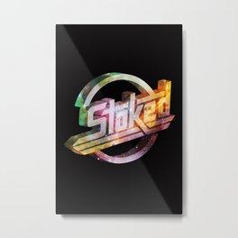 Stoked Cosmos Metal Print