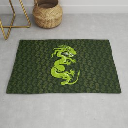 Jade Dragon Rug