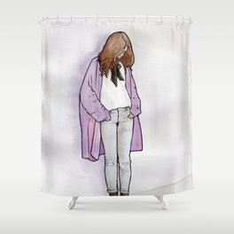 Cozy Cardigan Shower Curtain