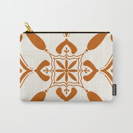 Terracotta Talavera Tile Carry-All Pouch