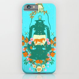 HORSE LANTERN iPhone Case
