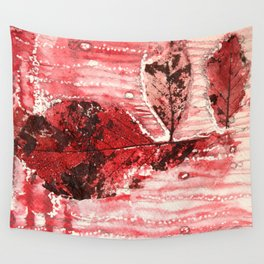 Bloody Leaf H2 Wall Tapestry