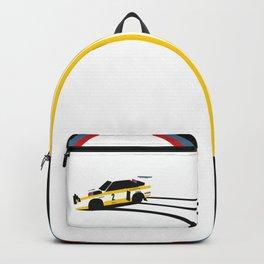 Quattro Slide Rally Car Backpack