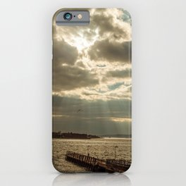 Sunny under the clouds iPhone Case