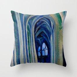 """Robert Delaunay """"Saint-Séverin No. 3"""" Throw Pillow"""