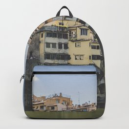 Ponte Vecchio bridge, Florence, Italy, Europe / travel photography fine art print / pastel wanderlust Backpack