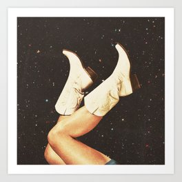These Boots - Space Kunstdrucke