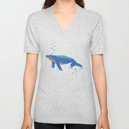Spot A Whale Unisex V-Neck