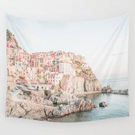 Positano, Italy Amalfi Coast Romantic Photography Wall Tapestry
