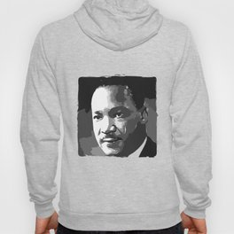 Martin Luther King Portrait Hoody