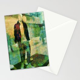 Faceless  Manikin Stationery Cards