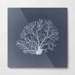 Faded Coral Metal Print