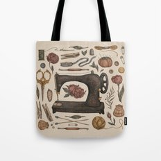 Sewing Collection Tote Bag