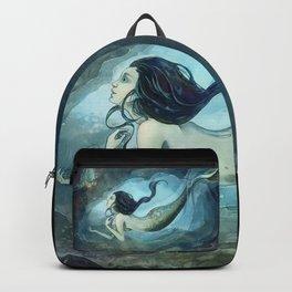 mermaid treasure Backpack