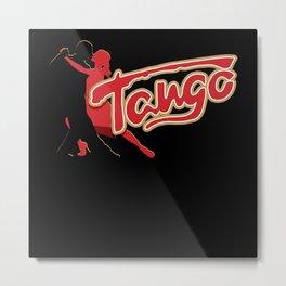 Tango, Guettozouk, Ballet, Metal Print