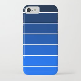 Infantry Blue Ombre iPhone Case