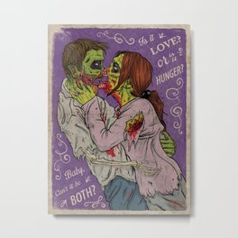 Love or Hnger Metal Print