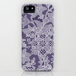 Lilies. Seamless Pattern. Lace. iPhone Case