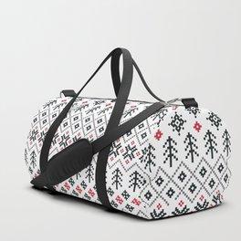 HOLIDAY SWEATER PATTERN Duffle Bag
