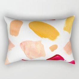Brush strokes || Acrylic Rectangular Pillow